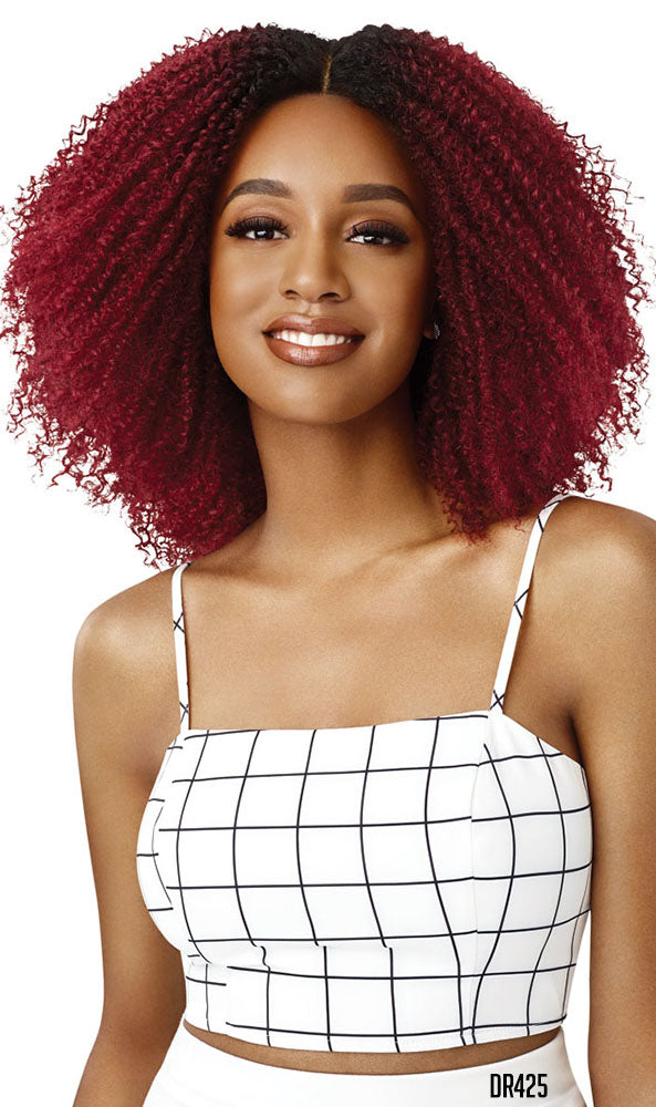 Outre Big Beautiful Hair Lace Front Wig 4B CROWN CURLS | Hair Crown Beauty Supply