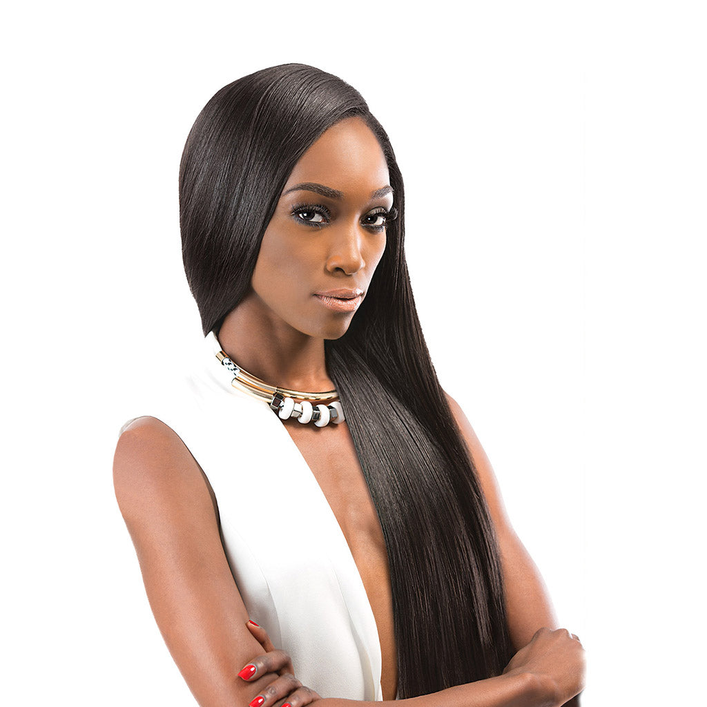 "Outre GEM Human Hair Yaki 8"" - Hair Crown Beauty Supply"