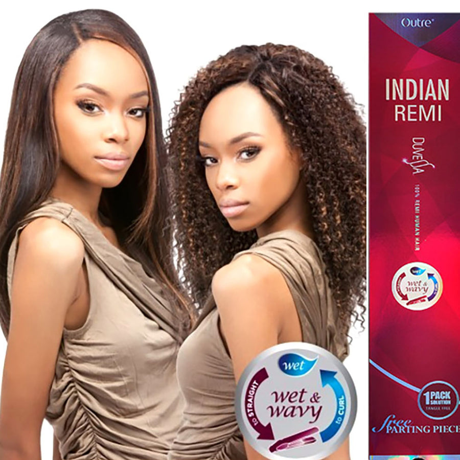 Outre Indian Remi Duvessa Curly Indian - Hair Crown Beauty Supply
