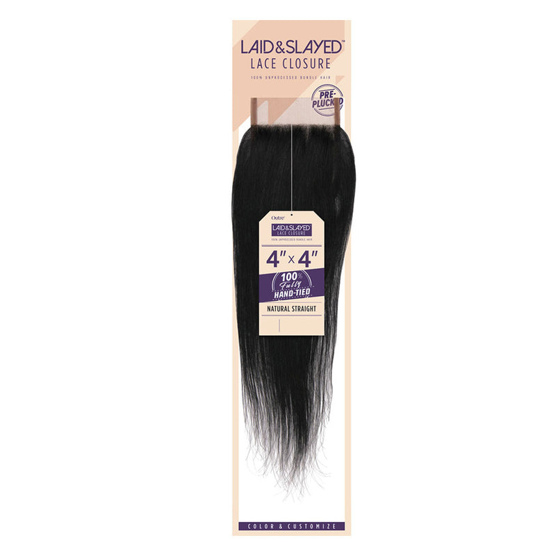 Outre Laid and Slayed Lace Closure - Hair Crown Beauty Supply