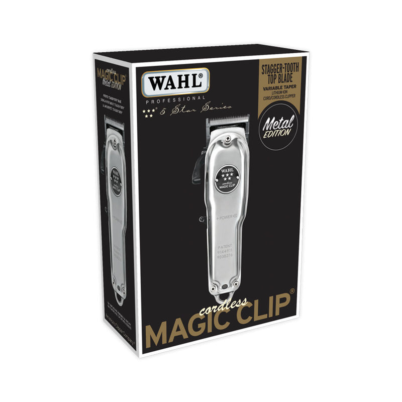 WAHL Professional 5-Star Cordless Magic Clip METAL Edition | Hair Crown Beauty Supply