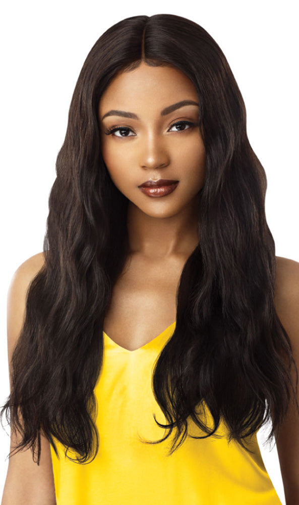 MyTresses Gold Label 100% Unprocessed Human Hair Lace Front Wig NATURAL WAVE 26"