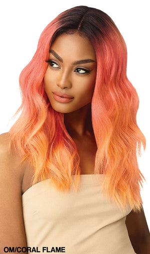 Outre Color Bomb Lace Front Wig CELESTE | Hair Crown Beauty Supply