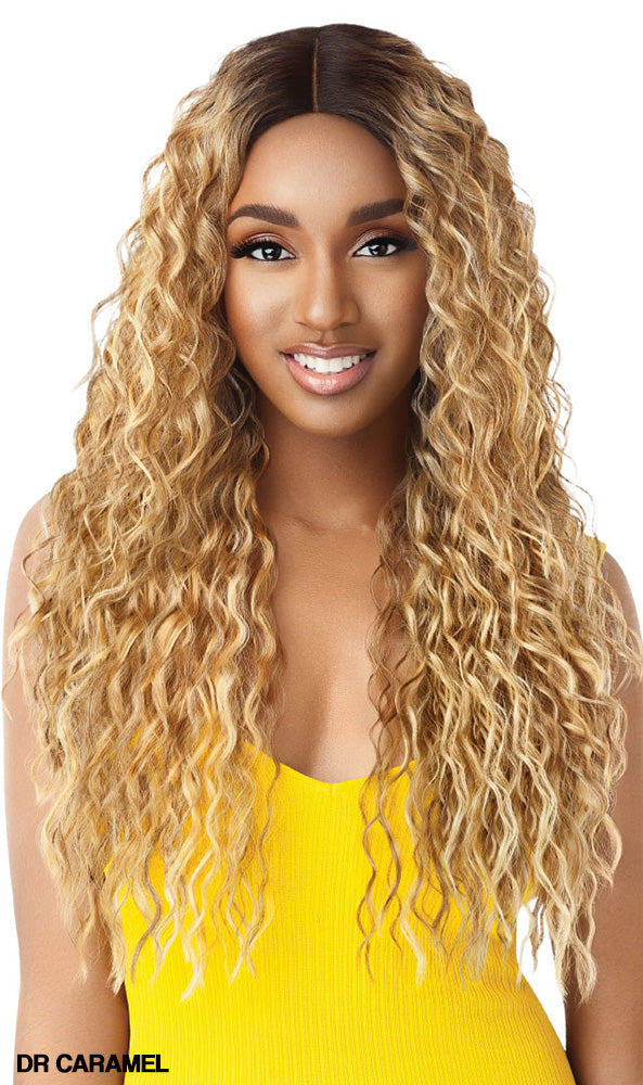 Outre The Daily Wig Synthetic Lace Part Wig THORA | Hair Crown Beauty Supply