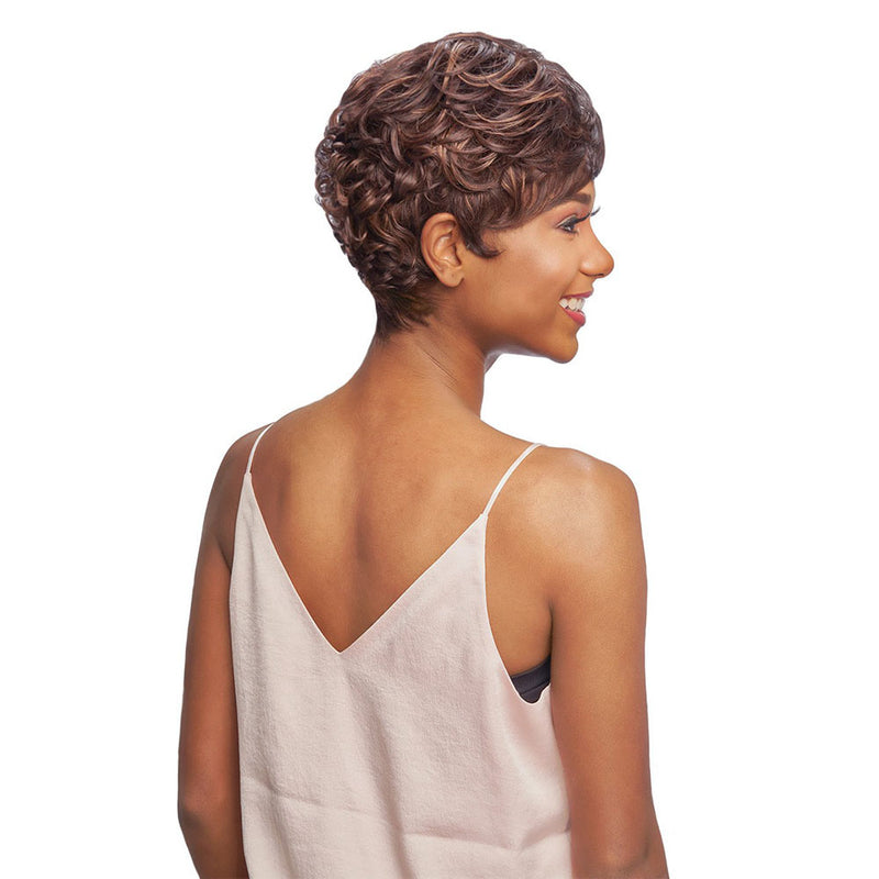Vanessa Party Lace Reverse J Part Synthetic Wig SALOME | Hair Crown Beauty Supply