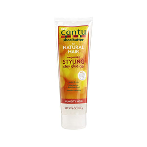 Cantu Shea Butter Styling Stay Glue Gel - Hair Crown Beauty Supply