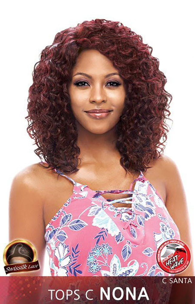 Vanessa Top Super C Side Lace Front Wig NONA | Hair Crown Beauty Supply