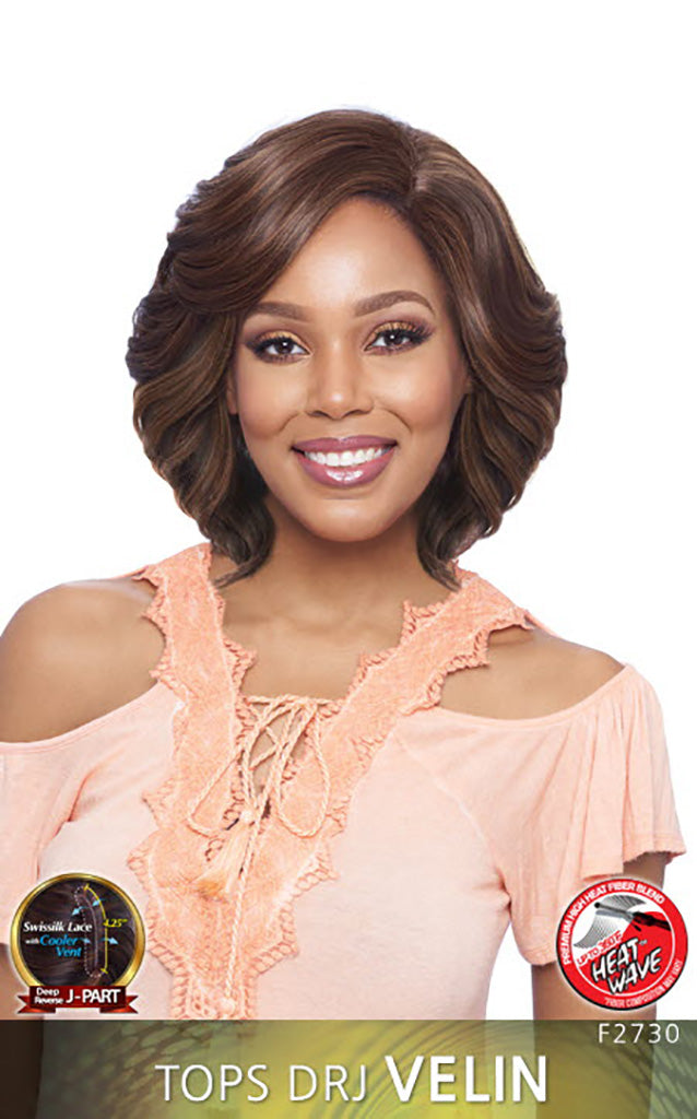 Vanessa Top Super DRJ Side Lace Front Wig TOPS DRJ VELIN - Hair Crown Beauty Supply