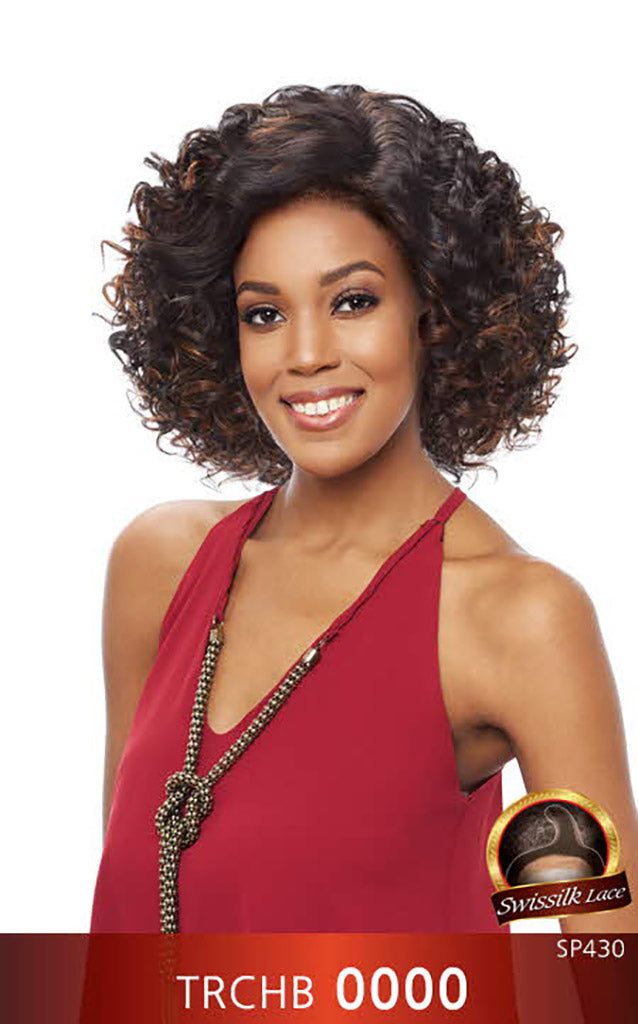 Vanessa Honey c Brazilian Human Hair Blend Wig TRCHB NEBIS - Hair Crown Beauty Supply