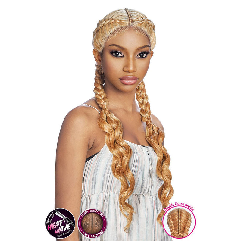 Vanessa Slayd Double Dutch Braid Lace Front Wig ANNA | Hair Crown Beauty Supply