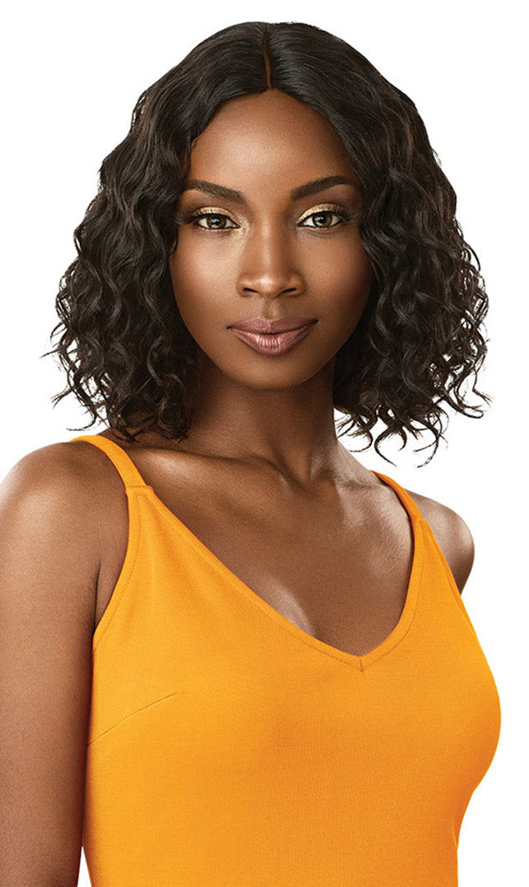 Outre Daily Wig Human Hair Lace Part Wig CURLY BOB 12"