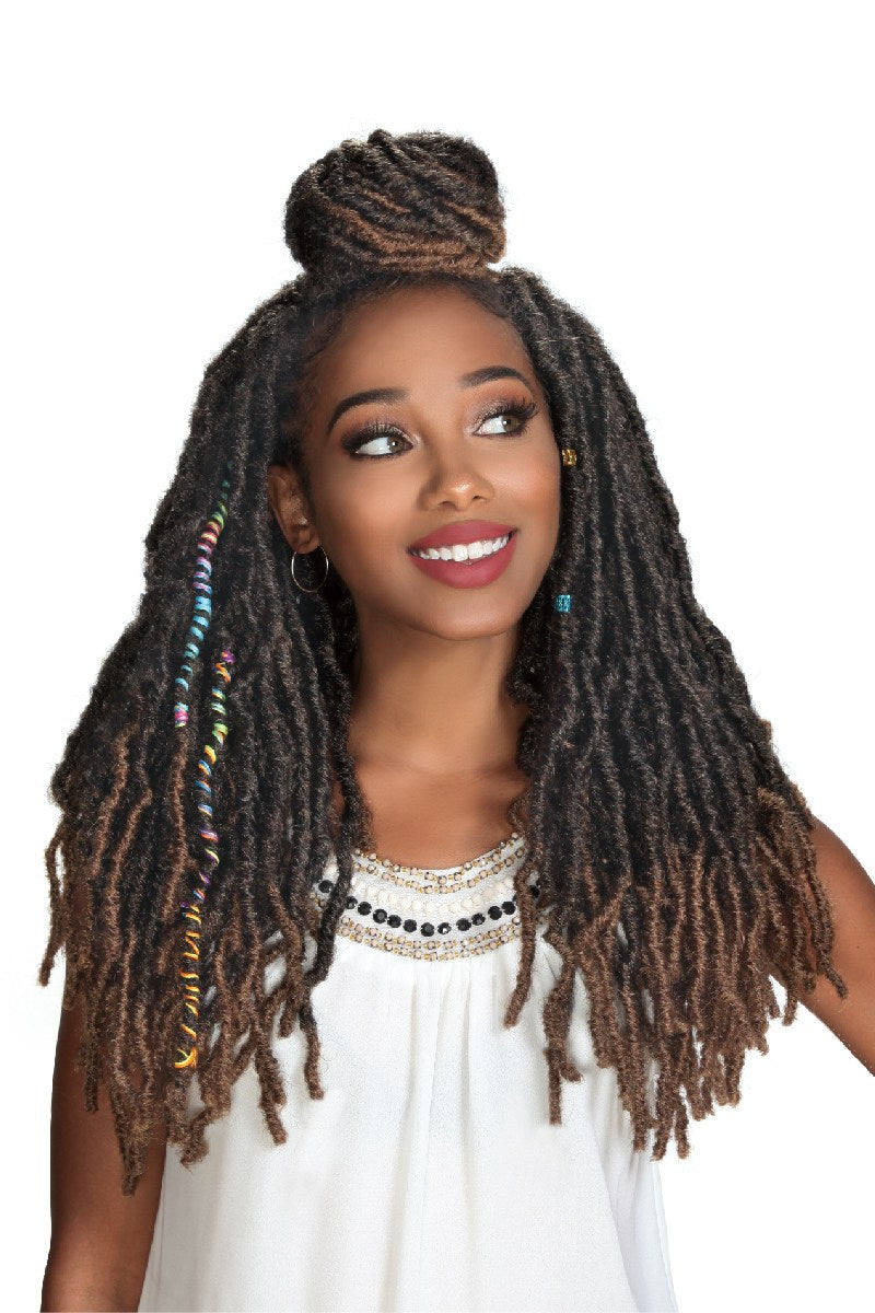 "Zury 3X Wiggle Loc Crochet Braid 18"" - Hair Crown Beauty Supply"