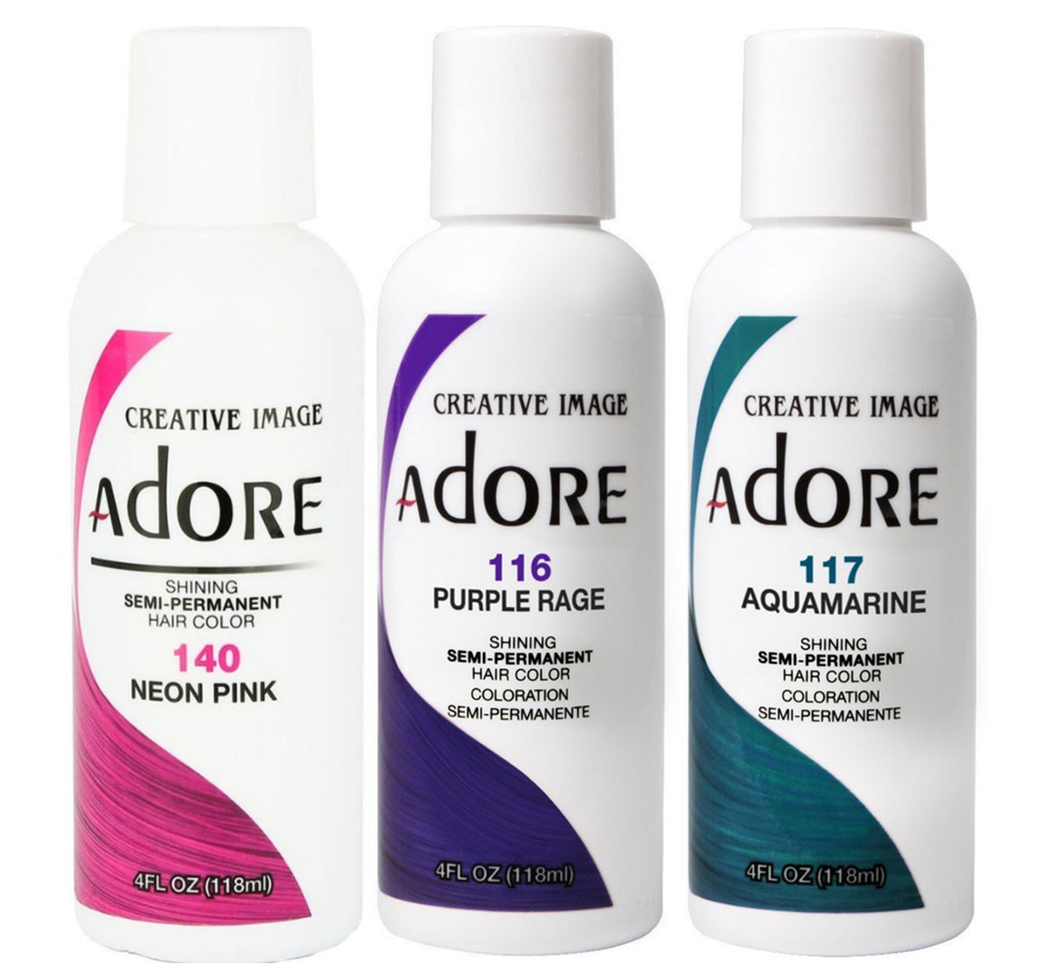 Adore Semi-Permanent Hair Color - Hair Crown Beauty Supply