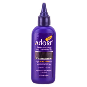 Adore Plus Extra Conditioning Semi-Permanent Hair Color - Hair Crown Beauty Supply