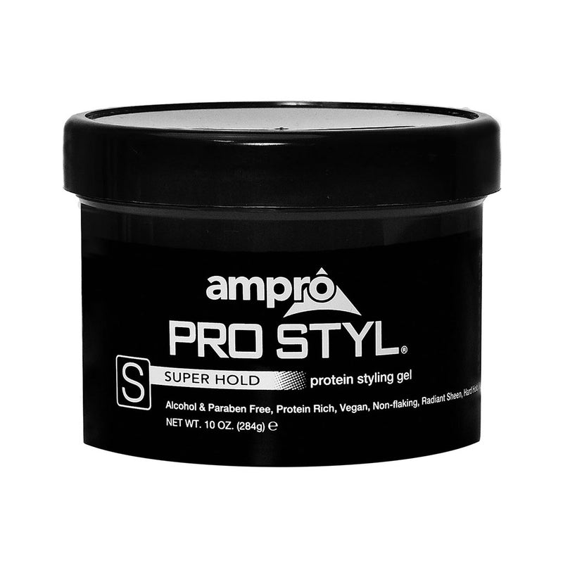 Ampro Pro Styl® Super Hold Protein Gel - Hair Crown Beauty Supply