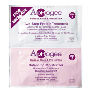 ApHogee Two Step Protein Treatment & Balancing Moisturizer - Hair Crown Beauty Supply