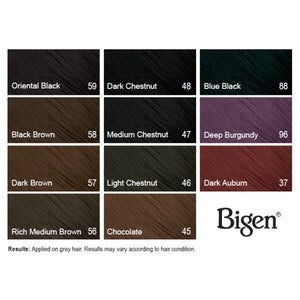Bigen Permanent Powder Hair Color - Hair Crown Beauty Supply