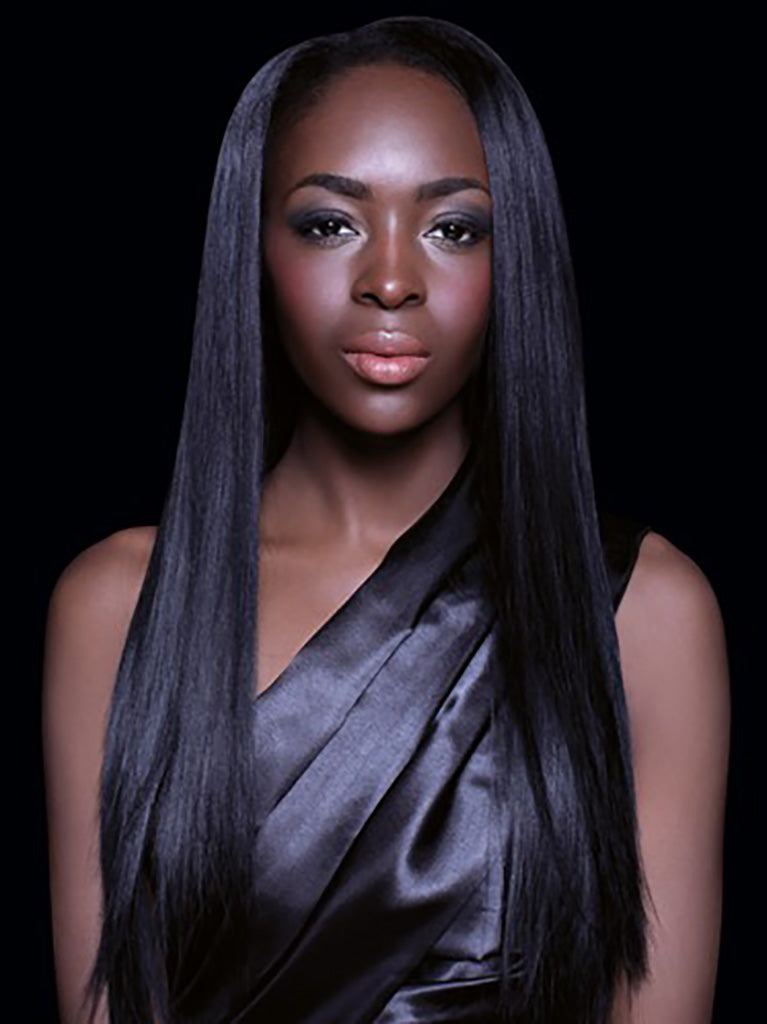 EverBeauty Black Remi Chocolate 100% Cuticle Virgin Remy Hair 10""