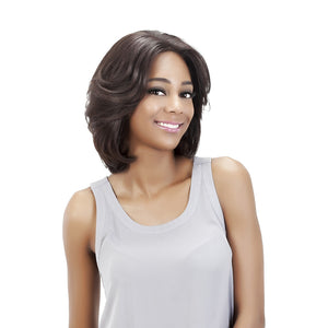 Vivica A Fox 100% Remi Human Hair Swiss Full Lace Wig BLUEBELL