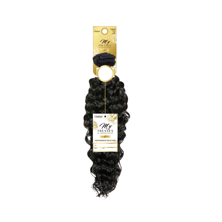 Outre MyTresses Gold Label 100% Unprocessed Human Hair BOHO DEEP - Hair Crown Beauty Supply