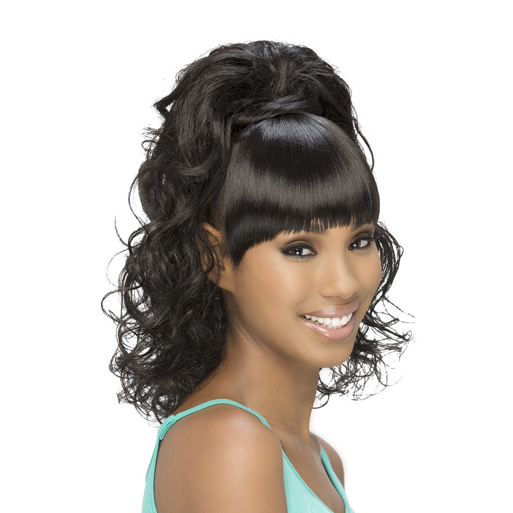 Vivica Fox Bang N Pony BP FELICIA - Hair Crown Beauty Supply