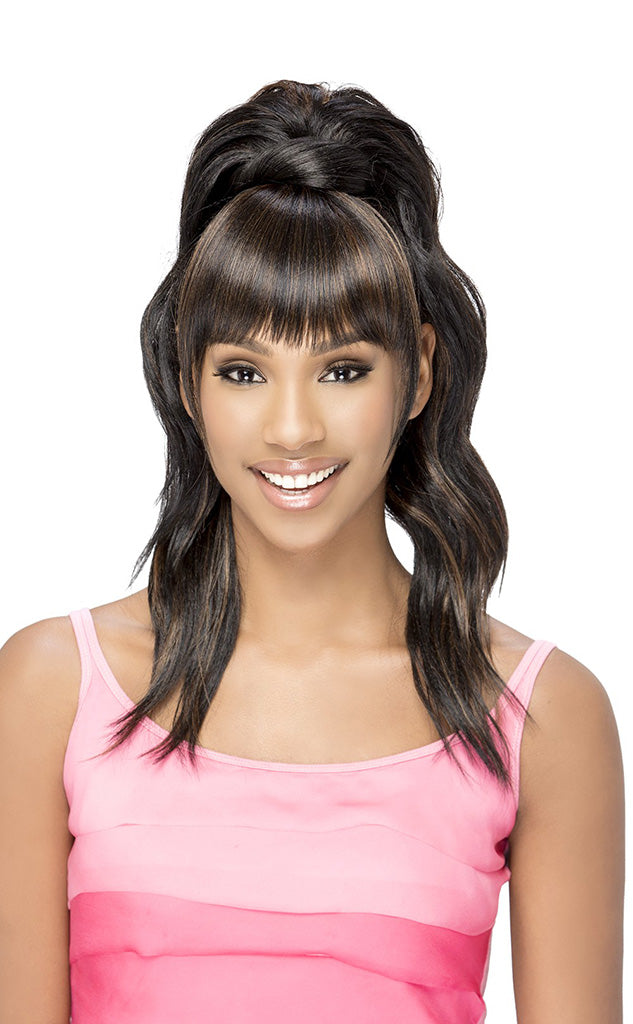 Vivica Fox Bang N Pony BP YUNA - Hair Crown Beauty Supply