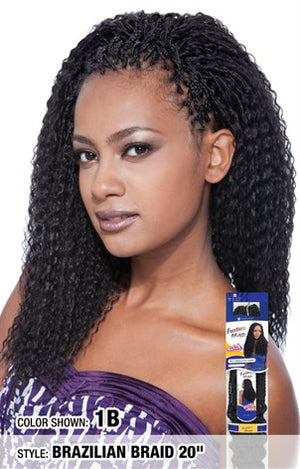 "FreeTress Brazilian Braid 20"" - Hair Crown Beauty Supply"