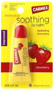 Carmex Everyday Soothing Lip Balm - Strawberry 0.35oz - Hair Crown Beauty Supply
