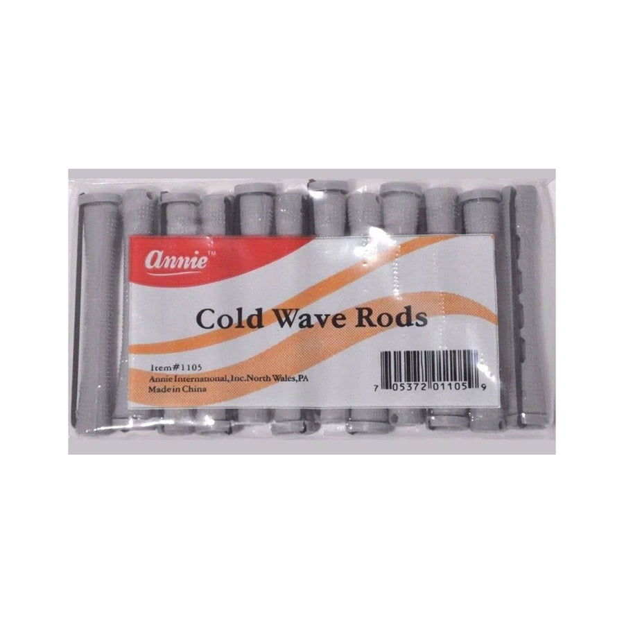 "Annie #1105 Cold Wave Rods Grey 3/8"" (12CT)"