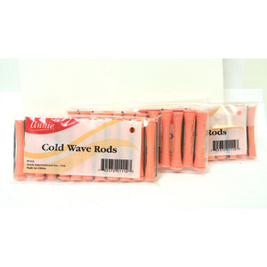 Annie Cold Wave Rods Pink 5/16""