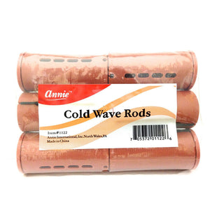 "Annie #1122 Cold Wave Rods Brown 1 1/2"" (6CT)"