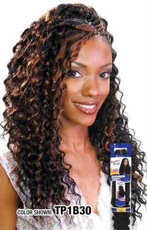 "(6 Packs ) FreeTress Deep Twist Crochet Braid 22"" - Hair Crown Beauty Supply"