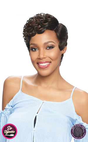 Vanessa Party Lace J Part Fashion Wig DRJ JESLI - Hair Crown Beauty Supply