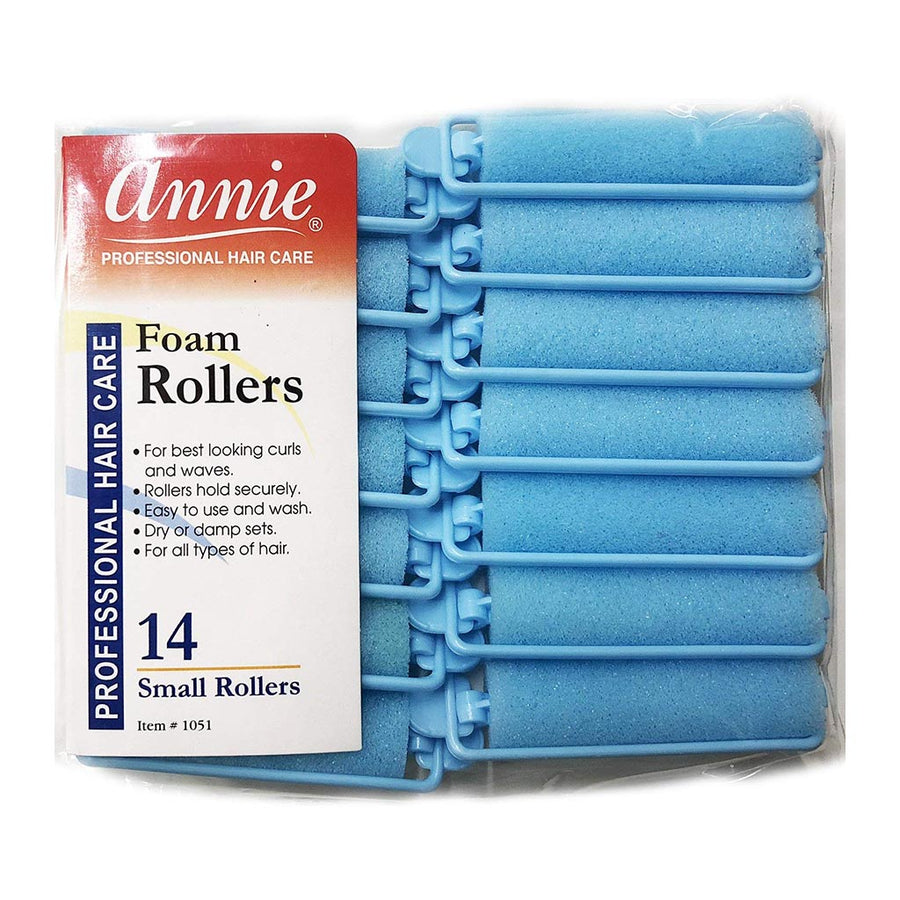 Annie #1051 Foam Rollers SMALL (14CT)