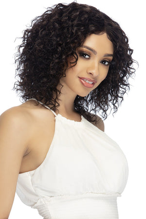 Vivica A Fox Natural Brazilian Swiss Lace Front Wig HATTIE