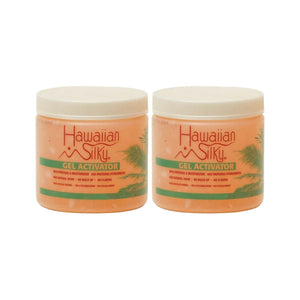 (2 Pack) Hawaiian Silky Gel Activator - Hair Crown Beauty Supply