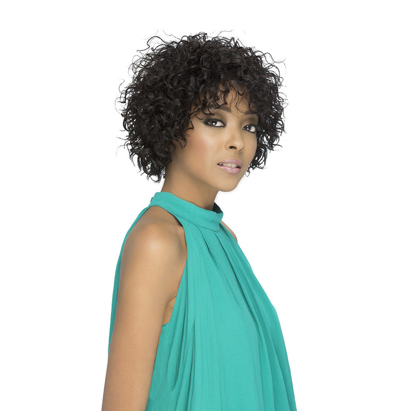 Vivica's Natural Brazilian Pure Stretch Cap Wig JASPER | Hair Crown Beauty Supply