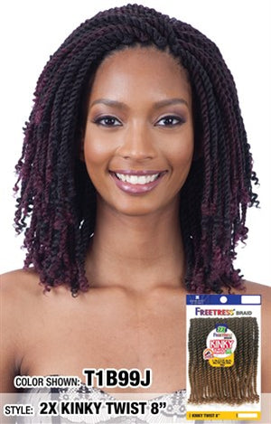 FreeTress 2X Kinky Twist Crochet Braid - Hair Crown Beauty Supply