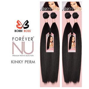 "Bobbi Boss Forever NU Kinky Perm Synthetic Weave 14"" - Hair Crown Beauty"