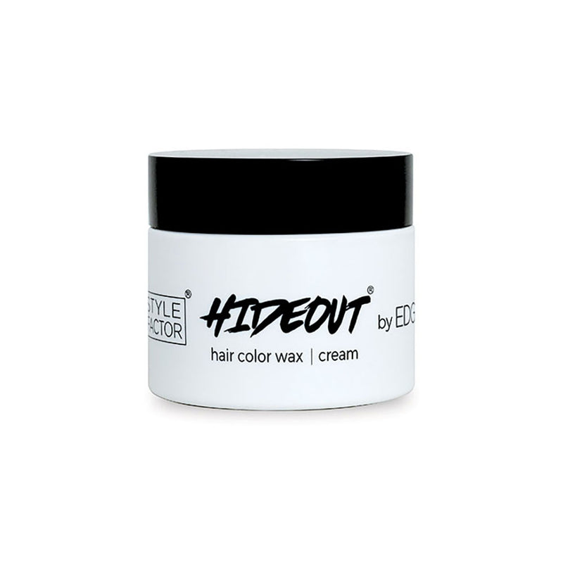 Style Factor Edge Booster HIDEOUT Hair Color Wax 1.7 Oz | Hair Crown Beauty Supply
