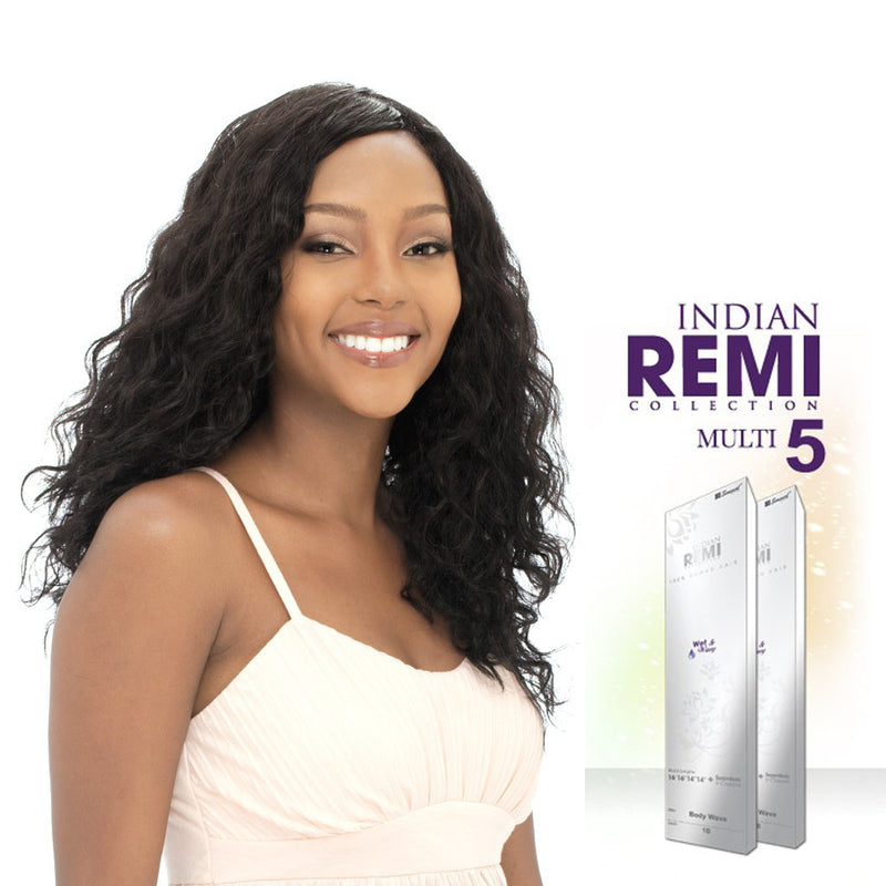 Indian Remi Wet & Wavy Body Wave 5PCS - Hair Crown Beauty Supply