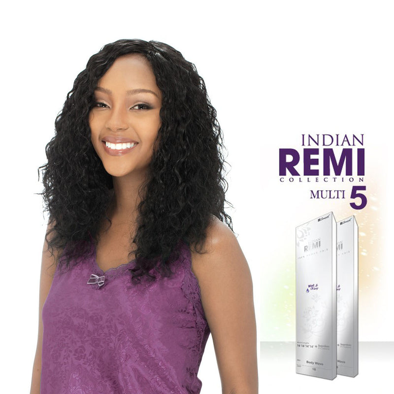 Indian Remi Wet & Wavy Loose Deep 5PCS - Hair Crown Beauty Supply