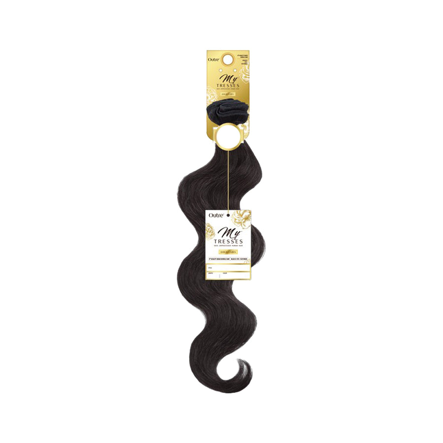 Outre MyTresses Gold Label 100% Unprocessed Human Hair NATURAL BODY - Hair Crown Beauty Supply