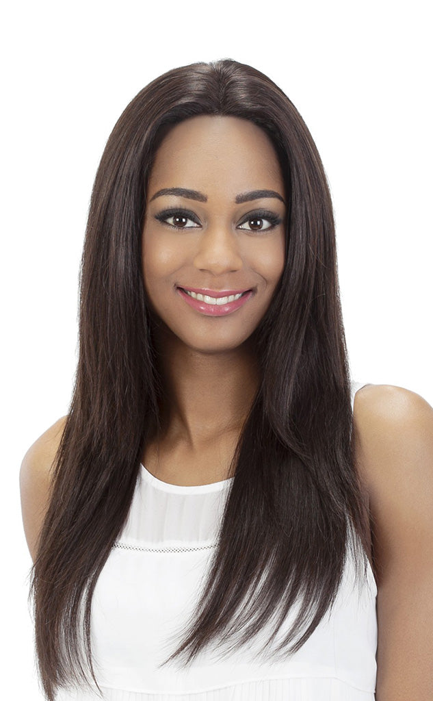 Vivica A Fox 100% Remi Human Hair Swiss Full Lace Wig ORCHID