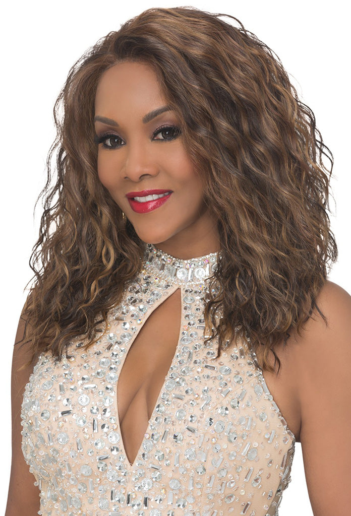 Vivica A Fox Deep Swiss Lace Front Wig ORLANDO-V - Hair Crown Beauty Supply