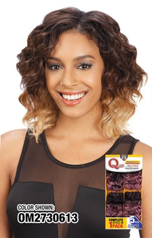 Que ShortCut Series Q-Attrak 5PCS Human Hair Mastermix - Hair Crown Beauty Supply