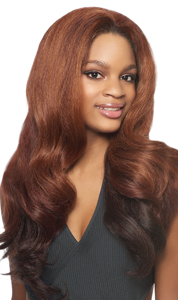 Outre Quick Weave Half Wig Dominican Blowout Relaxed | Hair Crown Beauty Supply