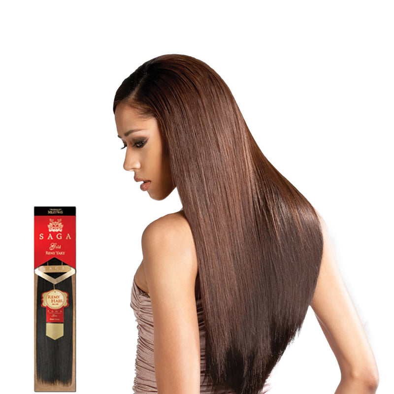 "SAGA Gold Remy Yaki 14"" - Hair Crown Beauty Supply"