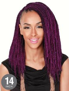 "Zury Senegalese Twist Crochet Synthetic Braid 14"" - Hair Crown Beauty Supply"