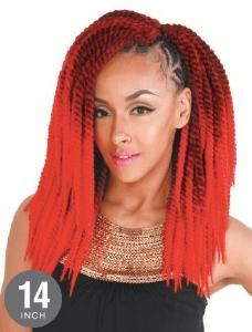 "Zury Senegalese Twist Crochet Synthetic Braid *BIG* 14"" - Hair Crown Beauty Supply"